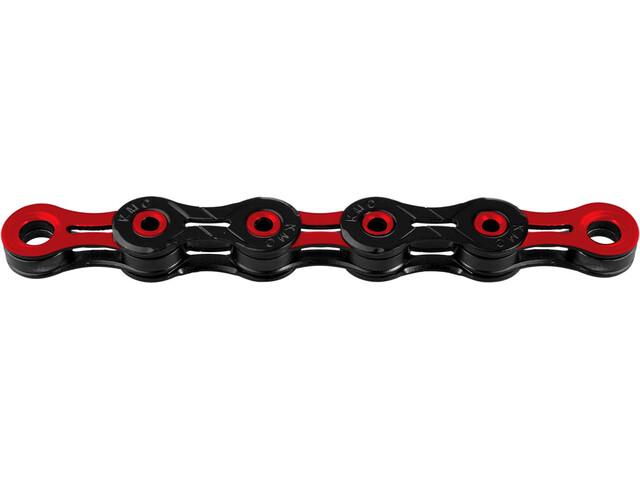 KMC X-11 SL DLC Kette 10-fach black/red